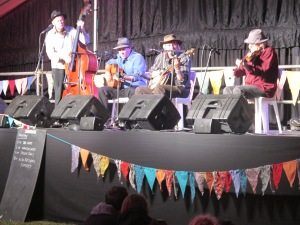 The Remarkables in action at the Auckland Folk Festival 2013